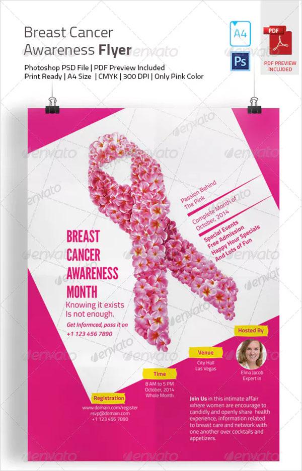 Breast Cancer PSD Awareness Flyer