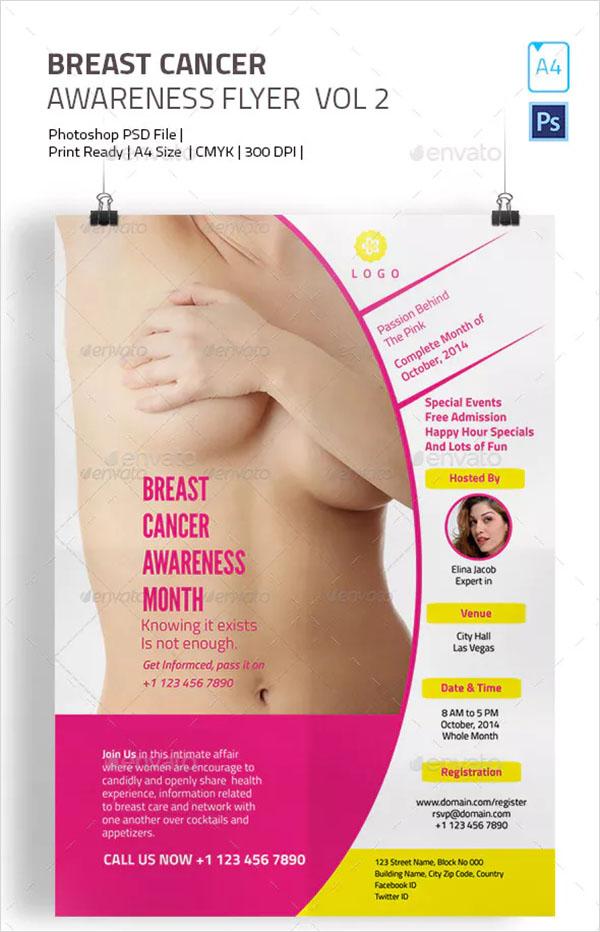 Breast Cancer Pink Flyer
