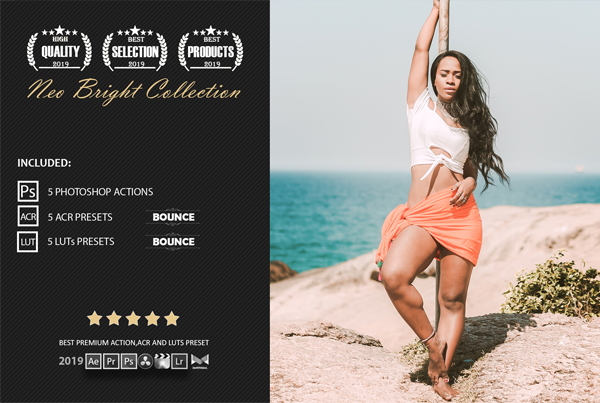 Bright Color Grading Photoshop Actions