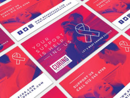 Cancer Business Card Templates