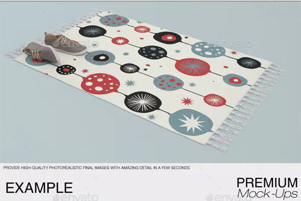 Carpet Mat Mockups