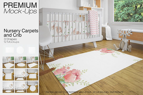 Carpets & Crib Mockups Pack