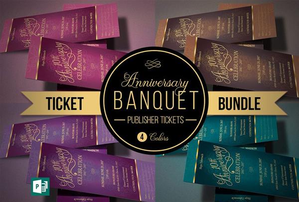 Church Anniversary Tickets Bundle
