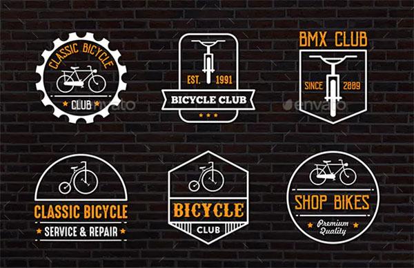 Classic Bicycle Badge & Logo
