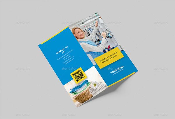 laundry brochure templates
