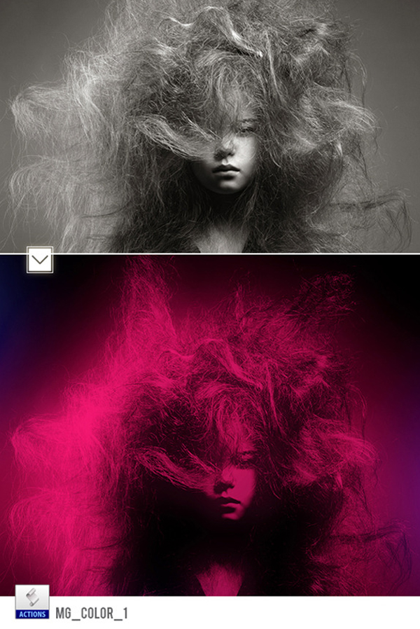 Color Photoshop Actions Effects