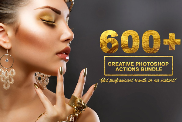 Creative Photoshop Actions Kit