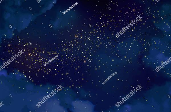 Dark Blue Confetti Texture
