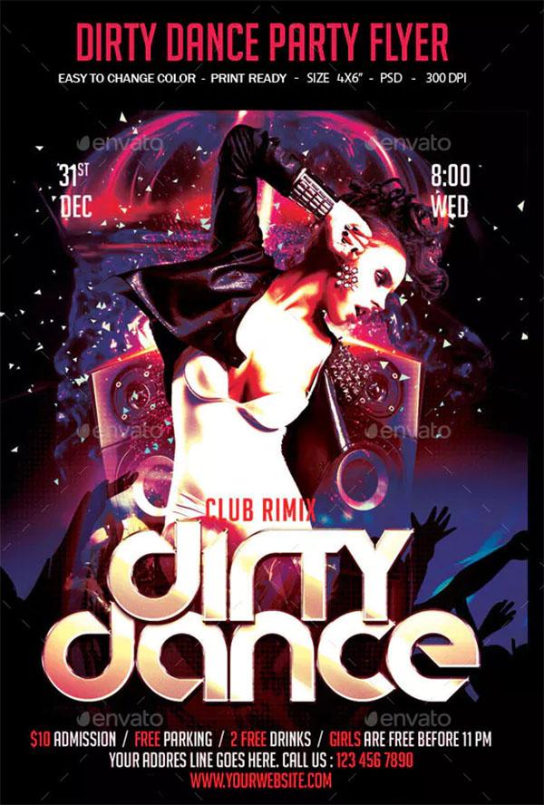 Dirty Dancing Flyer Templates