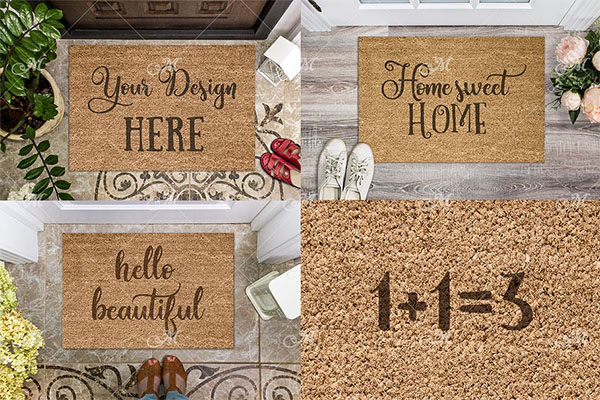 Doormat Mockups Bundle
