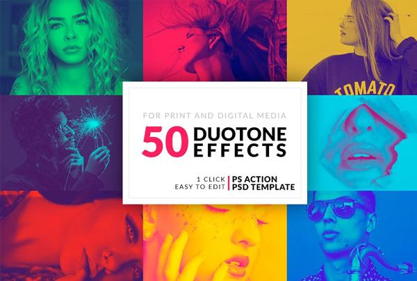Duotone Photo Photoshop Actions