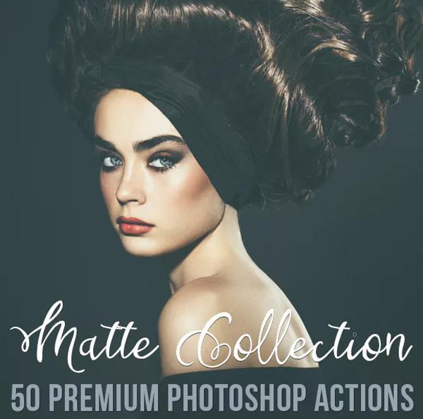 Matte Editable Photoshop Actions