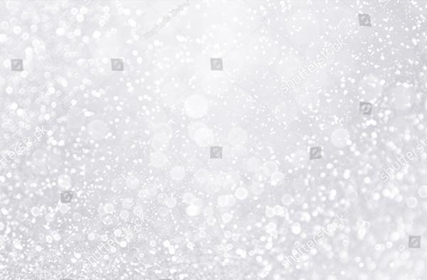 Elegant Silver White Confetti Texture