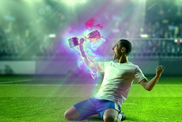 Energy Power Photoshop Action
