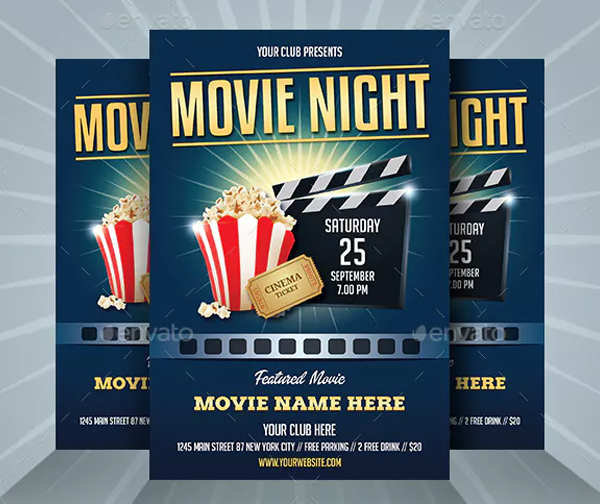 Entertainment Night Flyer Template