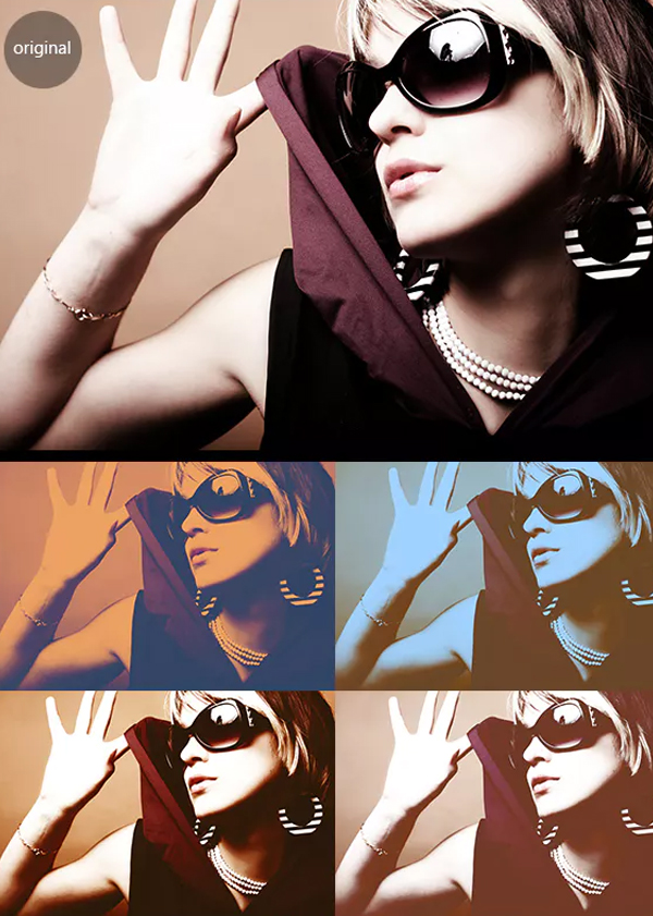 Film Color Photo Effect Actions Pack