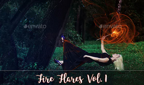 Fire Flare Overlays
