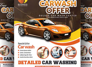 Free Car Wash Flyer Templates