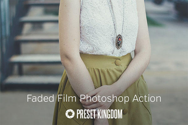 Free Faded Film Photoshop Action