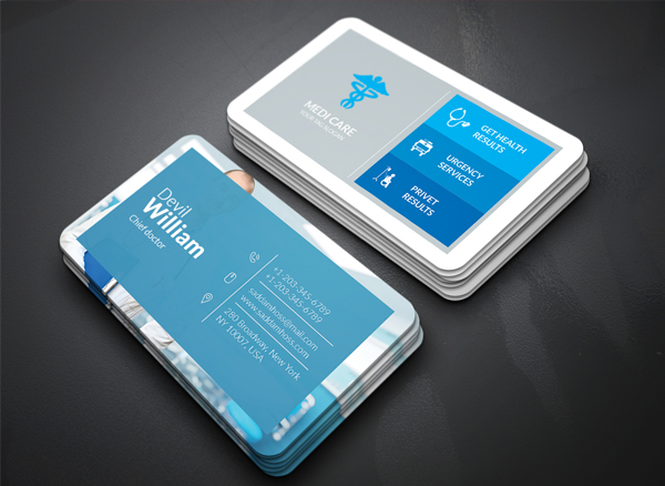 Free Medical Doctor Business Card