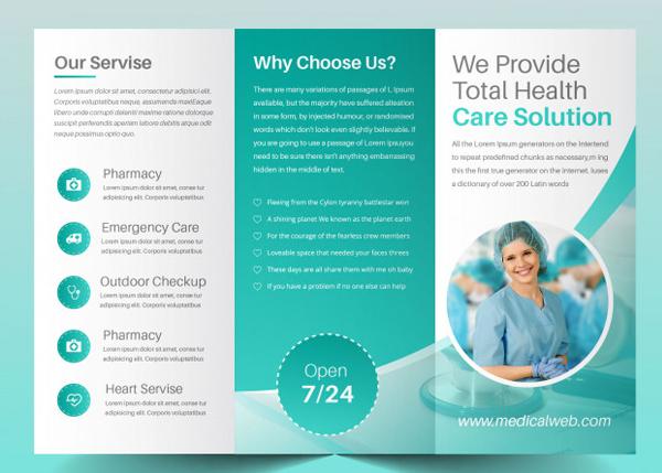 Free Modern Medical Brochure Template