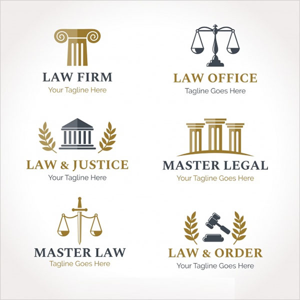 Free PSD Legal Logo Designs
