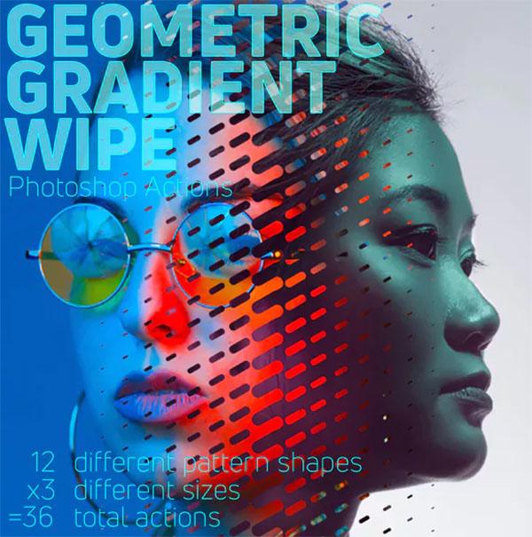Geometric Gradient Wipe Actions