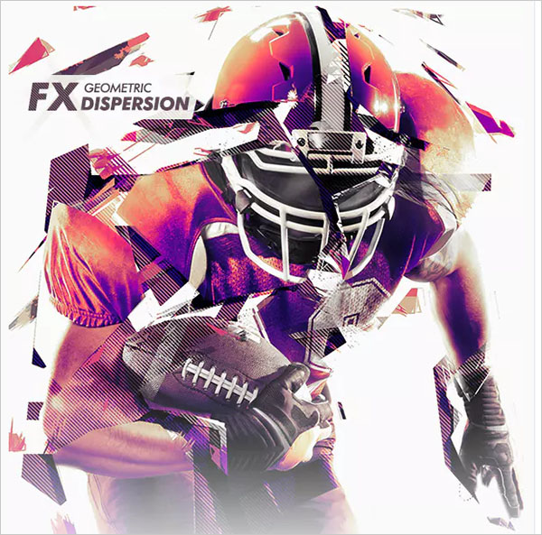 Geometrical Dispersion FX - Photoshop