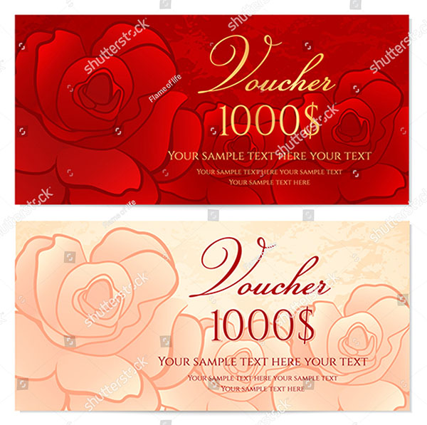 Gift Vector Mothers Day Ticket Templates