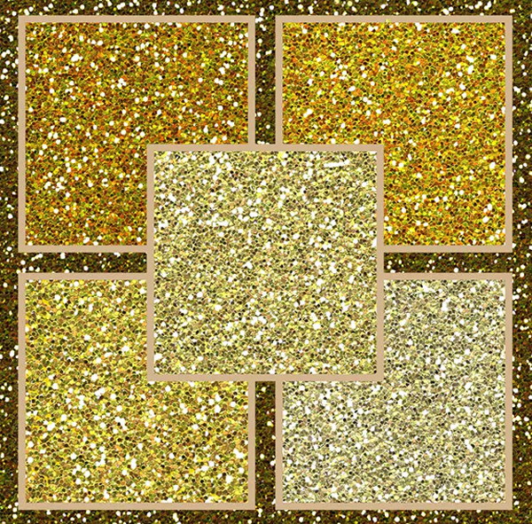 Gold Glitter Pack Textures
