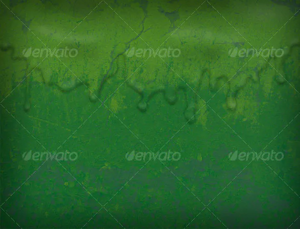 Green Liquid Layered Texture