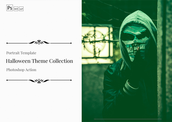 Halloween Color Grading Photoshop Actions