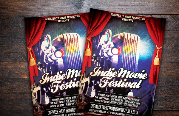 Indie Movie Festival Flyer