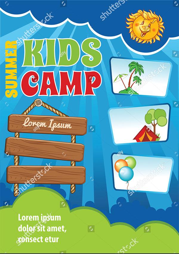 Kid Summer Vacation Template