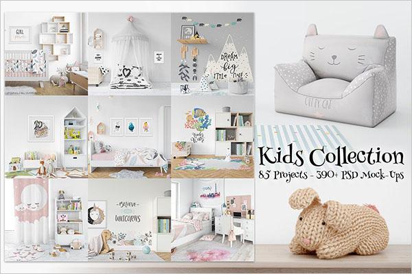 Kids Collection 85 Mockup Bundle