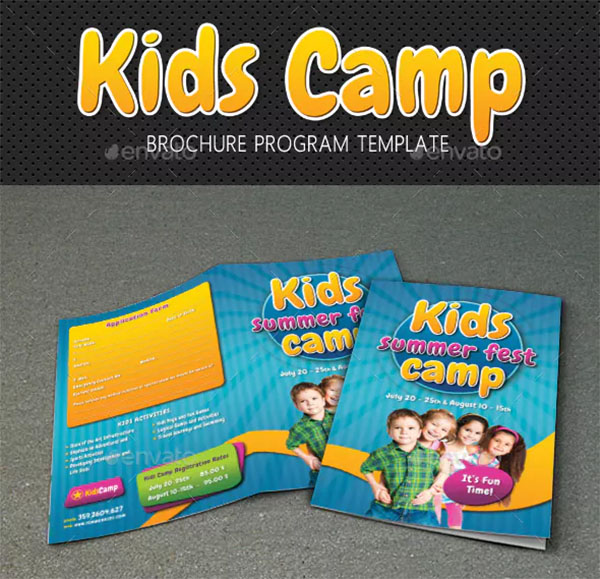 Kids Summer Camp Brochures