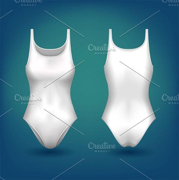 Ladies or Women one Piece swimwear Dress