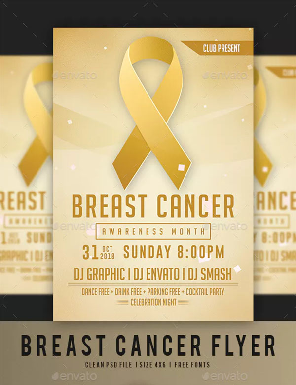 Latest Breast Cancer Awareness Month Flyer