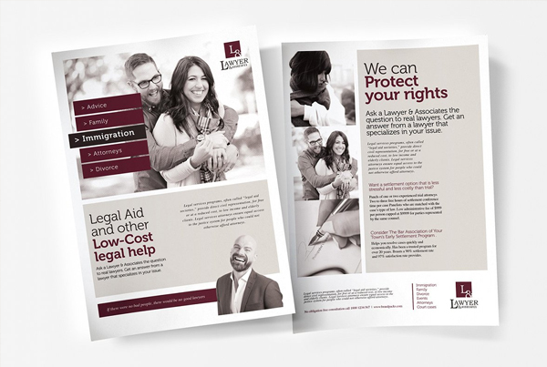 Law Firm Poster Template