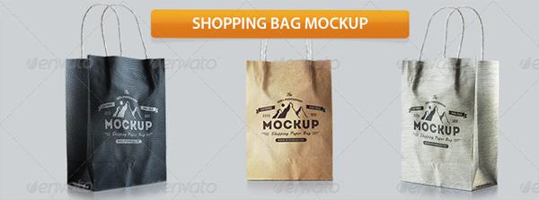 Leather Shopping Bag Photoshop Mockups