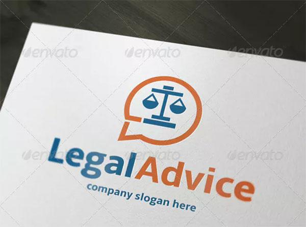 Legal Advice Logo Design