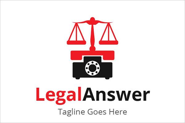 Legal Answer Logo Design