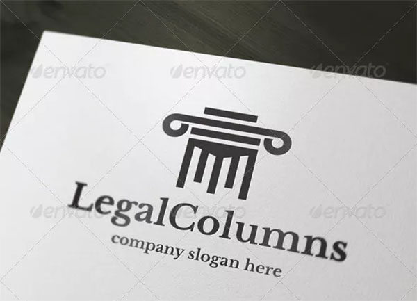 Legal Columns Logo Design