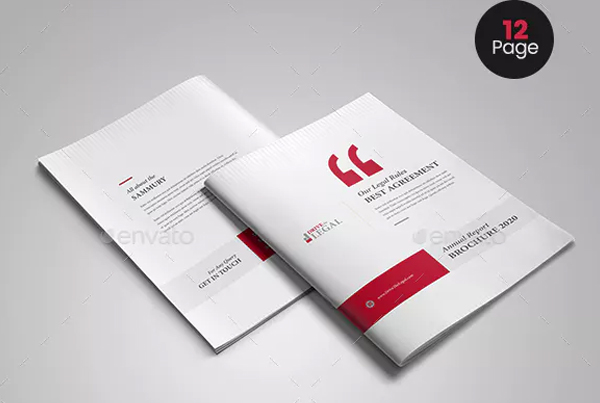 Legal Corporate Law Firm Business Brochure