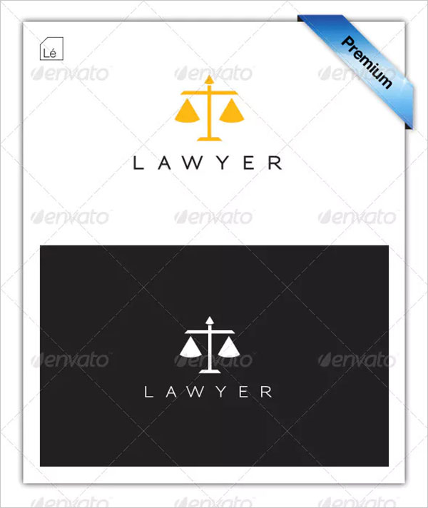Legal Lawyer Law Firm Justice Logo