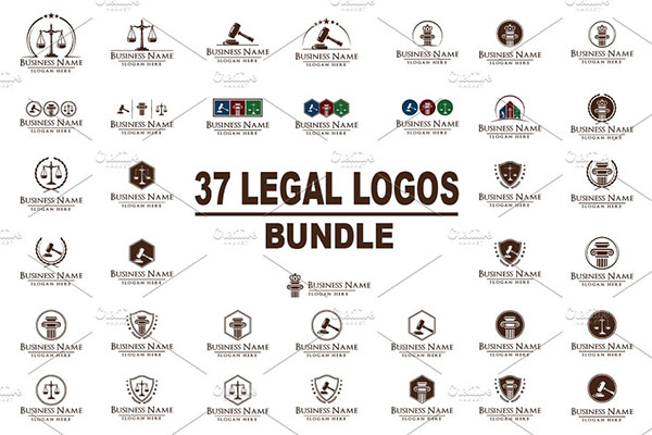 Legal Logos Bundle
