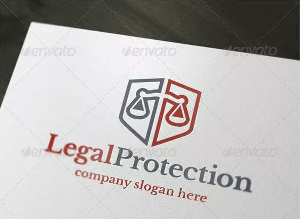 Legal Protection Logo Design