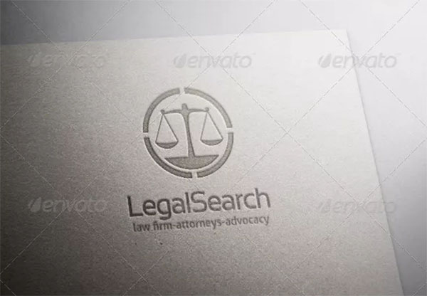 Legal Search Logo Design