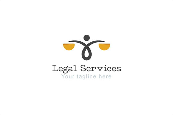 Legal Services Law & Attorney Logo