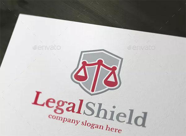 Legal Shield Logo Design